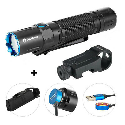 OLIGHT M2R PRO Warrior 1800 Lumen Rechargeable Tactical Flashlight+ E-WM25 Mount