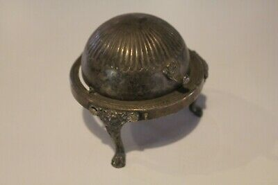 FB Rogers Silver Co Hinged Butter Dish