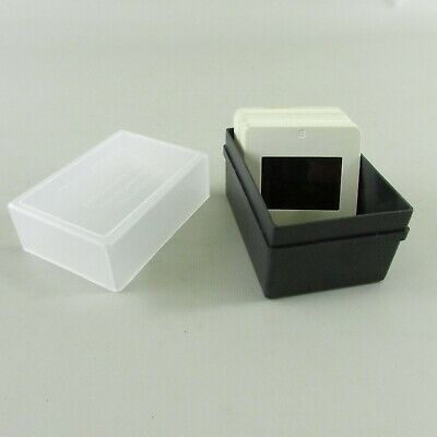 "Plastic 35mm Slide Storage Cases Each Holds up to 60 Slides in 2"" x 2"" Mounts"