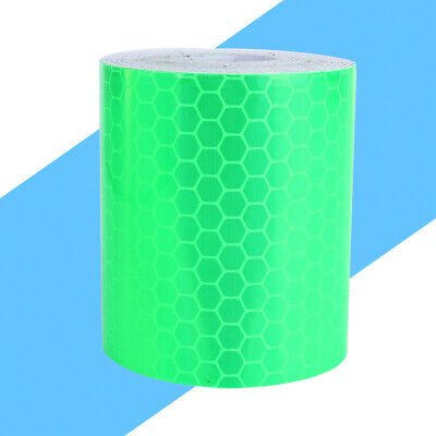New Fluorescence PVC Safety Reflective Wall Sticker Warning Tape Roll 300cm*5cm