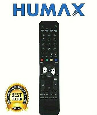 New Remote Control For Humax RM-F01 For FOXSAT-HDR FOXSATHDR320