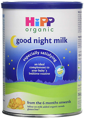 HiPP Organic From 6 Months Good Night Milk 350 g Pack of 4
