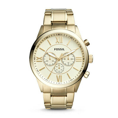 Flynn Chronograph Gold Tone Stainless Steel Watch BQ1128IE