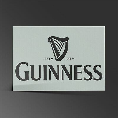 Guiness Stencil MYLAR Sheet 190 Micron Reusable Plastic Craft Stencil