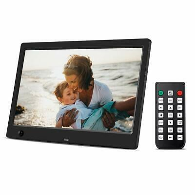 """Beschoi 10"""" Digital Photo Frame HD LED Picture Videos Frame with Motion Sensor"""
