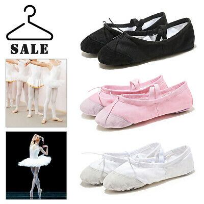 Ballet Canvas Shoes Adult&Children's Sizes Yoga Dance Shoes Fit Gymnastics Dance