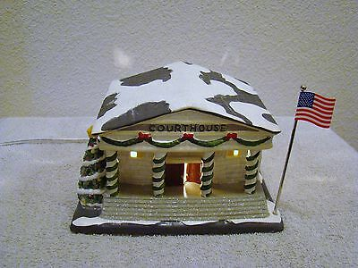Enesco - Miracle on 34th Street - Courthouse, Exclusive Collection, Holiday