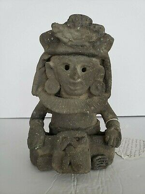 Authentic Pre-Columbian Zapotec Clay Urn