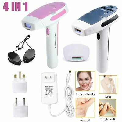 4 IN 1 Laser IPL Permanente Hair Removal Macchina Corpo Pelle Indolore Epilatore