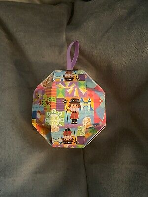 Disney Christmas 2019 Holiday Gifting It's A Small World LR Pin In Ornament Box
