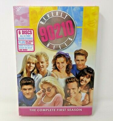 New Beverly Hills 90210 The Complete First Season (DVD, 2006, 6-Disc Set)