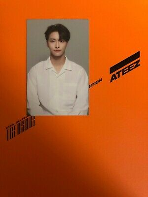 Ateez treasure 1st anniversary edition w/ Seonghwa photo card