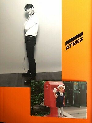 Ateez treasure 1st anniversary edition w/ Seonghwa photo card and MMT postcard