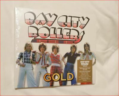 """3xCD Bay City Rollers/Best of New 2019 Fast Freepost Boxset """"Gold"""" 70s Scotland"""