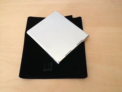 New - Alfred Dunhill - Box of Acero for Memo Pad - for Collectors