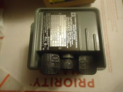 Square D 2510FW1 FHP Manual Starter new Water Tight Enclosure