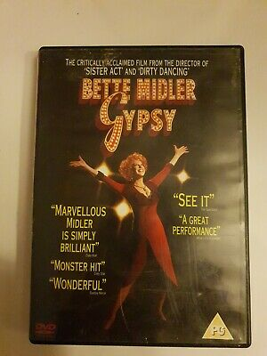Gypsy DVD (2005) Bette Midler FREE POSTAGE