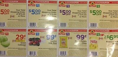 Lot Of 3! Shoprite Super Discounts Great Savings Item Pictured Expires 11/9/19!