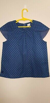 no added sugar girls blue top, Size 11-12 years