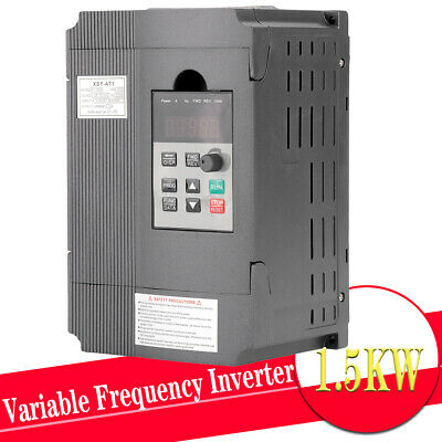 220V 1.5KW 2HP 8A Single Phase Variable Frequency Inverter VSD VFD AUS Drive