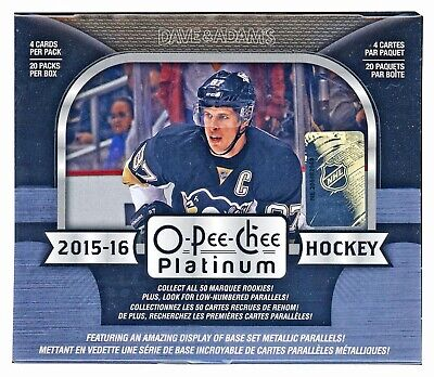 2015-2016 OPC Platinum base cards - 1$ each - you pick