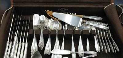 67 pc International Sterling Silver Prelude Flatware Plus HTF Serving Pieces