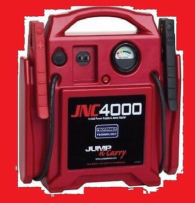 Battery Booster Car Starter Jump Carry 12v 1100 amp JNC4000 Jumper pack charger