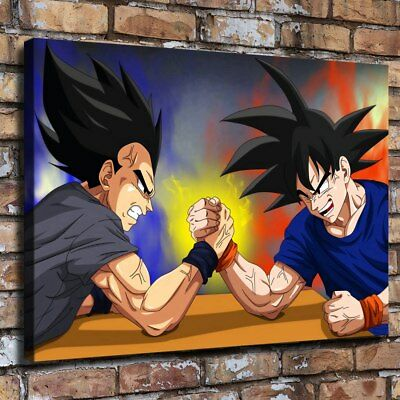 "16""x22"" Dragon Ball HD Canvas prints Painting Home Decor Picture Room Wall art"