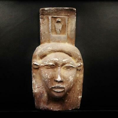 Rare Ancient Egyptian Bust Goddess Hathor Mask....LARGE...ONE OF A KIND