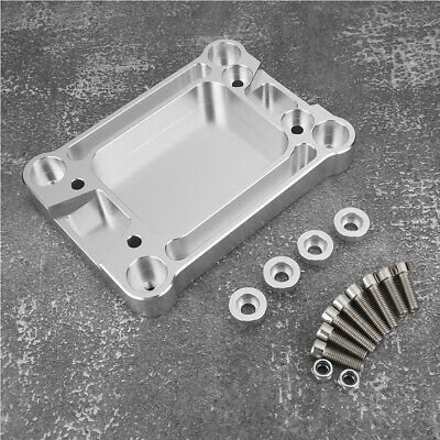 CNC Aluminum Billet Shifter box Base Plate For Honda Civic 1988-00 Acura Integra