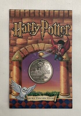 2001 Harry Potter Isle of Man First Official Cupro Nickel Coin