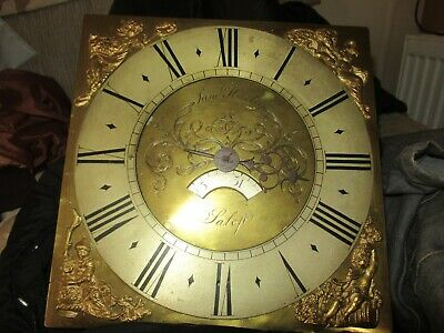 antique grand father clock face by Samuel Harley /Salop/ shrewsbury 1766-1799.00
