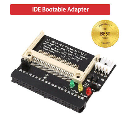 CF Compact Flash to 40 Pin 3.5 Female IDE Bootable Adapter Converter Card