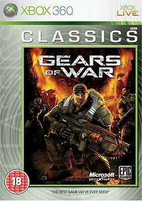 Xbox 360 Gears Of War  Pal Format Excellent Condition