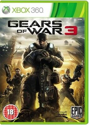 GEARS OF WAR 3 Game Xbox 360 PAL Fast Post UK