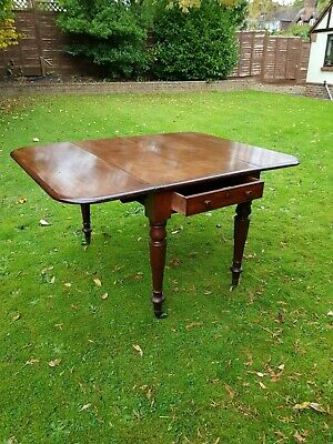 Fine Antique Victorian Large Mahogany Pembroke Dining Table Thomas Seddon c1854