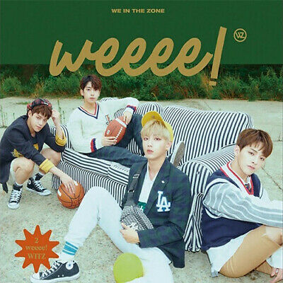 WE IN THE ZONE WEEEE! 2nd Mini Album CD+POSTER+Photo Book+8p Mini Poster+3p Card