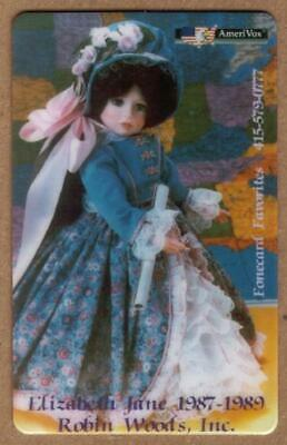 Robin Woods, Inc. The Favorite Dolls: Cplt Set of 4 (AmeriVox) PROOFS Phone Card
