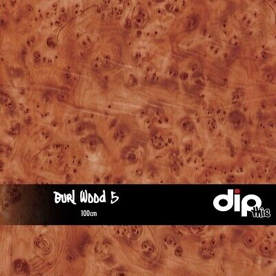 Burl Wood 5 - Hydrographics Film 100cm - Hydro Dipping ROLLED