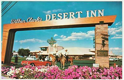 WILBUR CLARKS DESERT INN CASINO **1950's** LAS VEGAS NEVADA Post Card F 86