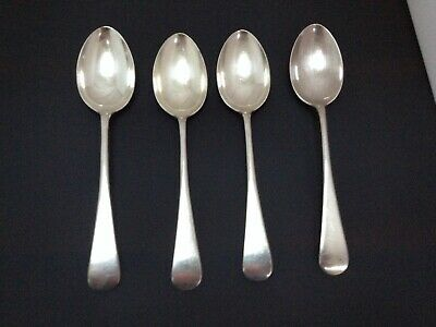 4 Vintage Goldsmiths and Silversmiths Regent Plated 7ins Spoons