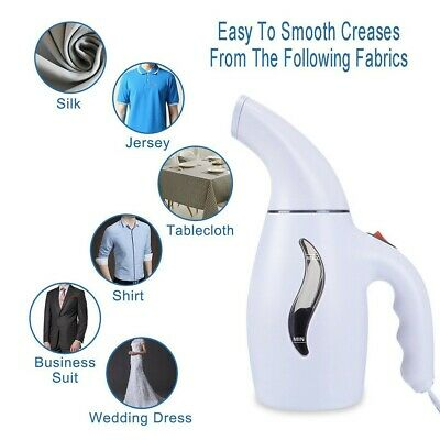 Clothes Garment Iron Steamer Remover Portable Small Handheld Electrical CL