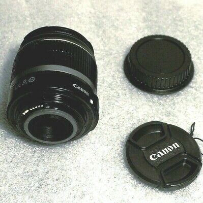 USED Canon EF-S 18-55mm f/3.5-5.6 IS  Lens, Excellent