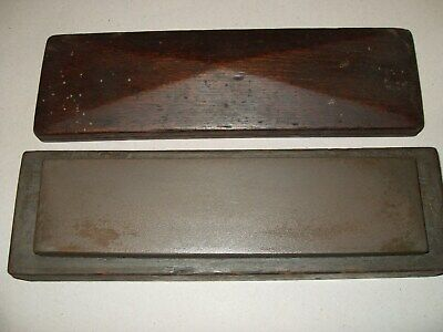 """Brown Colour Sharpening Stone - Approx. 8"""" x 2"""" - As Seen"""