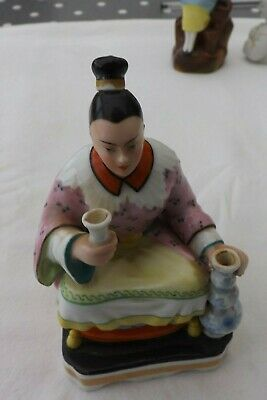 Very Rare Antique Chinese Porcelain Scent Bottle 13Cms High