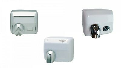 Jvd Warm Air Hand Dryer Ouragan IP21 Manual and Automatically Vandal-Proof