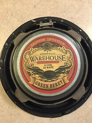 "WGS Warehouse Guitar Speaker 12""  8ohm. 25watt"