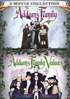 THE ADDAMS FAMILY/ ADDAMS FAMILY VALUES 2 MOVIE COLL - DVD - Region 1