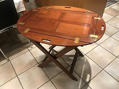 Antique  Wooden Butlers Tray Early 20th century