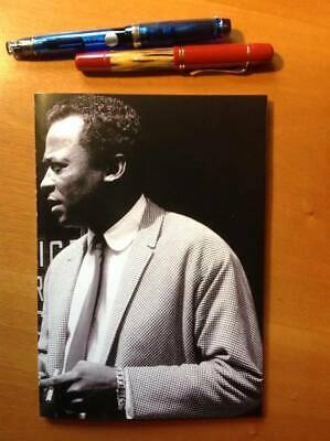 """Miles Davis"" Tomoe River Notebook - Japanese Fountain Pen Friendly Paper"